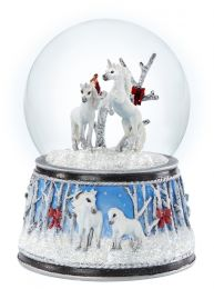 Breyer Stablemates Musical Snow Globe Enchanted Forest