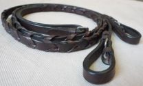 Mcallister Leather Laced Reins Pony
