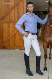 Peter Williams Cross Country Breeches White Mens