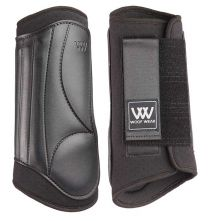 Woof Eventing Hind Boots Black