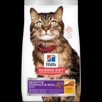 Hills Cat Adult Sensitive Stomach & Skin 7kg