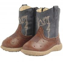 Baxter BXT Baby Western Boots Navy Childs