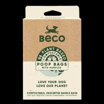 Poo Bag Beco Compostable Handles 96pack