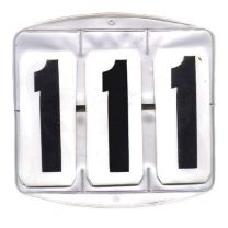 Competition Numbers Set of 3 Square Qty2