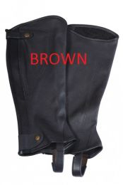 Eurohunter Leather Chapette Brown