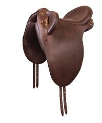 Bates Kimberley Hart Stock Saddle Classic Brown