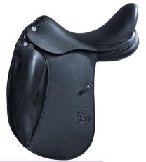 Prestige X Helen K Lux Dressage Saddle Black