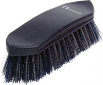 Gymkhana Plastic Back Dandy Brush Small Navy & Grey