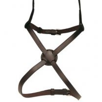 Indian Leather Figure 8 Noseband Brown