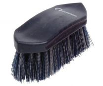 Gymkhana Plastic Back Dandy Brush Junior Navy & Grey