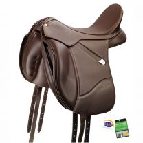 Bates Isabell Hart Dressage Saddle Classic Brown