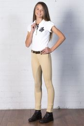 Peter Williams Sticker Jodhpurs Black Childs