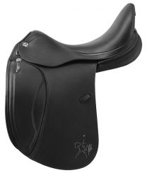 Prestige X Helen Lux Dressage Saddle Black
