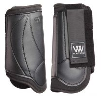 Woof Eventing Front Boots Black