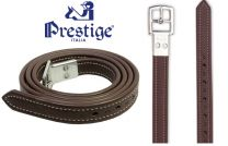 Prestige Non Stretch Stirrup Leathers Tobacco
