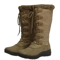 Baxter Whistler Boots Taupe Adults