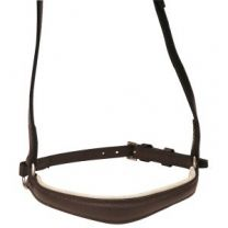Indian Leather Drop Noseband Brown