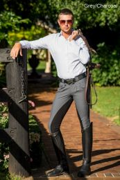 Peter Williams Cross Country Breeches Grey Mens