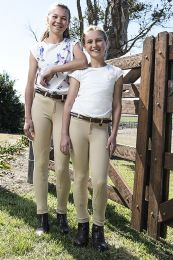 Peter Williams Equestrian Jodhpurs Beige Childs