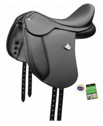 Bates Pony Cair Dressage Saddle Black
