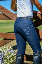 Peter Williams Competition Breeches Navy Youth
