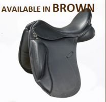 Pessoa Entrada Monoflap Dressage Saddle Brown