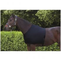 Horsemaster Shoulder Guard Lycra Black