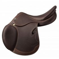 Prestige Passion D Jumping Saddle Tobacco