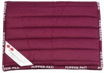 Puffer All Purpose Saddlecloth Burgandy by order