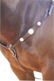 Western Breastplate Scalloped