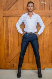 Peter Williams Cross Country Breeches Navy Mens