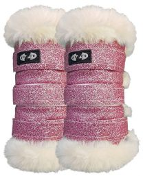 Bling Exercise Boots Pink